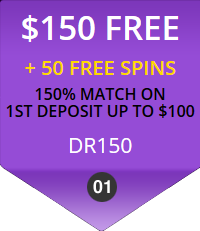 Diamond Reels First Deposit Bonus - $150 + 50 Free Spins - Use Code DR150