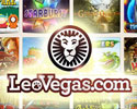 Play the best games at Leo Vegas Casino