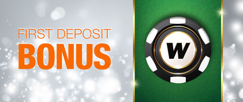 Winner First Deposit Bonus
