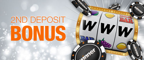 Winner Second Deposit Bonus