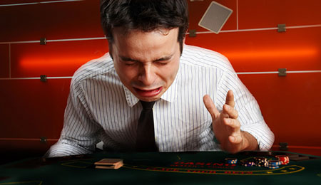 Learning From Mistakes In Poker